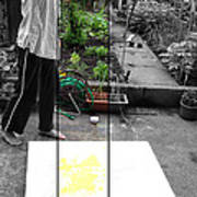 Artist At Work Three Poster by Sir Josef - Social Critic - ART