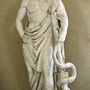 Asclepius. 4th C. Bc. Classical Greek Poster by Everett