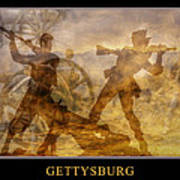 At A Place Called Gettysburg Poster Poster by Randy Steele