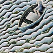 At Sea Poster by Celia Washington