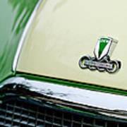Auto Union Dkw Hood Emblem Poster by Jill Reger