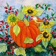 Autumn Poster by Laura Nance