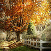 Autumn - Westfield Nj - I Love Autumn Poster by Mike Savad