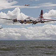 B17 The Hardest Mile Poster by Pat Speirs