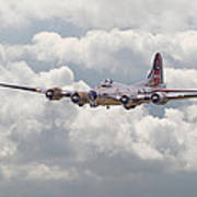 B17- Yankee Lady Poster by Pat Speirs