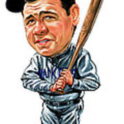 Babe Ruth Poster by Art