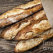 Baguettes Bread Poster by Elena Elisseeva