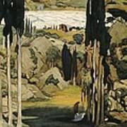 Bakst, L�on 1866-1924. Daphnis Et Poster by Everett