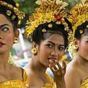 Balinese Dancers Poster by David Smith
