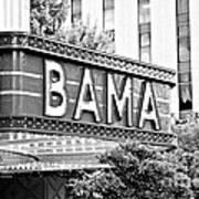 Bama Poster by Scott Pellegrin
