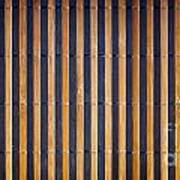 Bamboo Mat Texture Poster by Tim Hester
