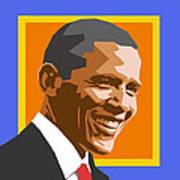 Barack Poster by Douglas Simonson