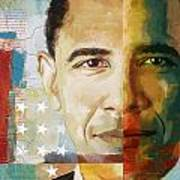 Barack Obama Poster by Corporate Art Task Force