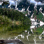 Baranof Lake Poster by Robert Bales