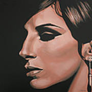Barbra Streisand Poster by Paul Meijering