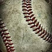Baseball - A Retired Ball Poster by Paul Ward