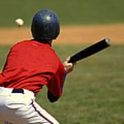 Baseball Batter Poster by Lane Erickson