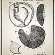 Baseball Glove Patent Poster by Digital Reproductions