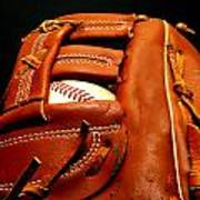 Baseball Glove With Ball Poster by Danny Hooks