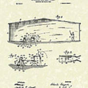 Baseball Pitcher 1902 Patent Art Poster by Prior Art Design