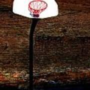Basketball Poster by Lane Erickson