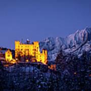 Bavarian Castle Poster by Brian Jannsen