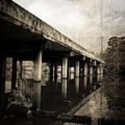 Bay View Bridge Poster by Scott Pellegrin
