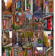 Beacon Hill - Poster Poster by Joann Vitali