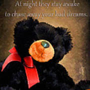 Bears Sleep By Day Poster by Darren Fisher