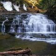 Beautiful Waterfalls Poster by Sheila Savage
