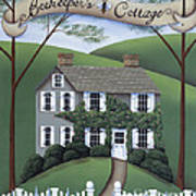 Beekeeper's Cottage Poster by Catherine Holman