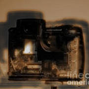 Behind The Lens  Poster by Steven  Digman