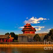 Beijing Forbidden City Poster by Fototrav Print
