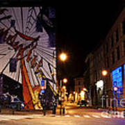 Belgium Street Art Poster by Juli Scalzi
