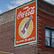Bend Oregon Coke Sign Poster by Gary Grayson