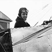 Bernetta Miller, Us Aviator Poster by Science Photo Library