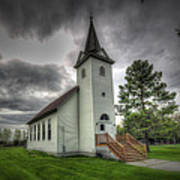 Bethany Prairie Church Poster by David Foster