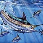 Big Blue And Tuna Poster by Terry Fox
