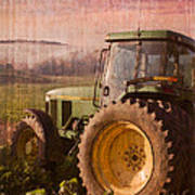 Big John Poster by Debra and Dave Vanderlaan