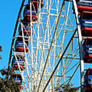 Big Wheel Poster by Kaye Menner