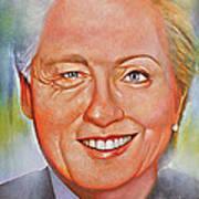 Billary Poster by Gary McLaughlin