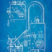Bird Respirator Patent Art 1962 Blueprint Poster by Ian Monk