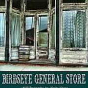 Birdseye General Store Poster by Julie Dant