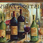 Bistro De Paris Poster by Marilyn Dunlap