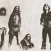 Black Sabbath Poster by Jeff Ridlen