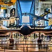 Blackbird Rear View Poster by Randy Scherkenbach