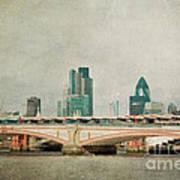 Blackfriars Bridge Poster by Violet Gray
