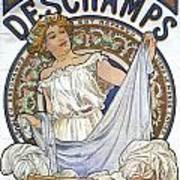 Bleu Deschamps Poster by Georgia Fowler
