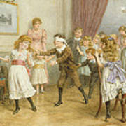 Blind Mans Buff Poster by George Goodwin Kilburne