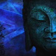 Blue Balance Poster by Joachim G Pinkawa